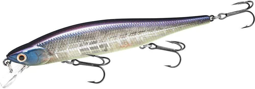 """Lucky Craft Lightning Pointer 110 sp 4 1//2/""""  /&  1//2 oz in MS AMERICAN SHAD COLOR"""