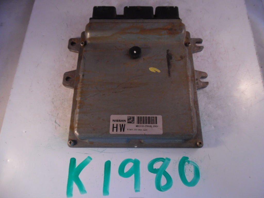 MEC110260 NISSAN computer module ECM ECU