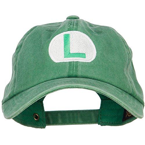 e4Hats.com Mario Luigi Wario Waluigi Embroidered Unstructured Cap - Kelly OSFM (Nintendo Bucket Hat)