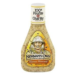 Amazon.com : Newman's Own Salad Dressing, Honey Mustard