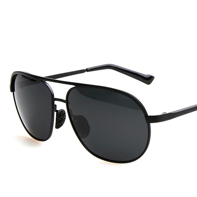 gafas de sol de los hombres/gafas polarizadas/Espejo Vintage rana/Conducción de