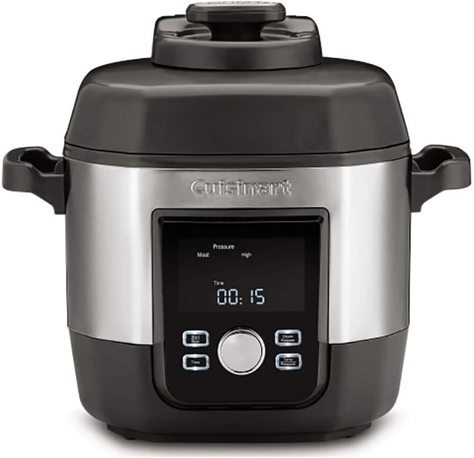 Cuisinart CPC-900 6-Quart High Multicooker Pressure Cooker, Stainless Steel