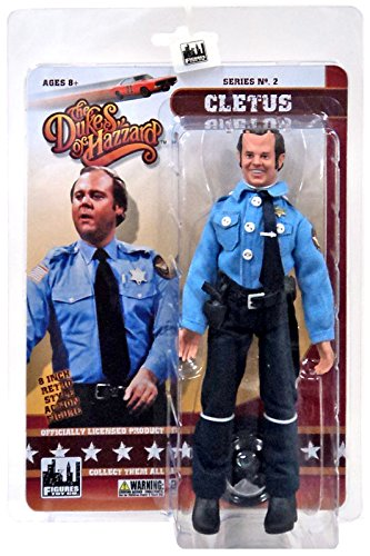 """The Dukes of Hazzard Series 2 Cletus 8"""" Action Figure"""