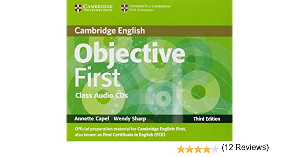Objective First Class Audio CDs (2): Amazon.es: Capel, Annette ...