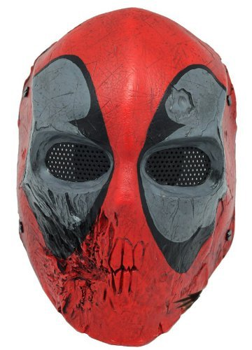 Skull 40d Mask Full Face Wire Mesh Mask for Airsoft , BB Gun and Paint Ball