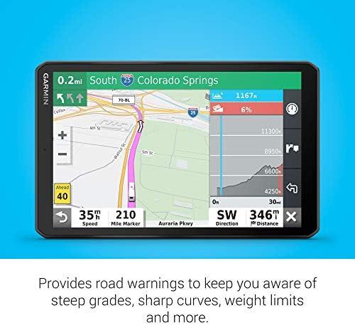 Garmin Camper 890 MT-S EU - Navegador GPS con mapas de por Vida (Pantalla de 8