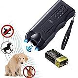 Volwco Handheld Dog Repellent & Trainer, Dual LED Light Ultrasonic Anti-Barking Device 3