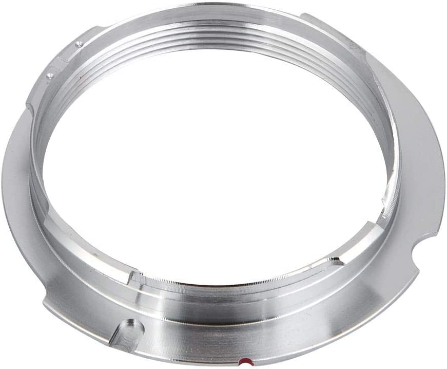 Serounder Camera Lens Mount Adapter Ring L -LM 35-135mm Lens Adapter Ring for Leica M39 LSM LTM Lens for Leica VM ZM LM-EA7 for Leica LM,ZM VM,M Mount Cameras 50-75 M39