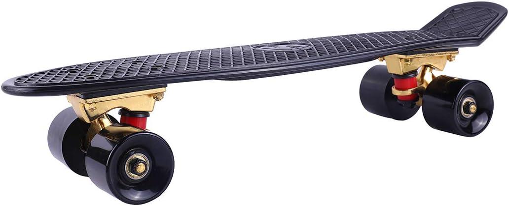 Stile retr/ò Skateboard proibizionismo Plastic 22,5 Polka