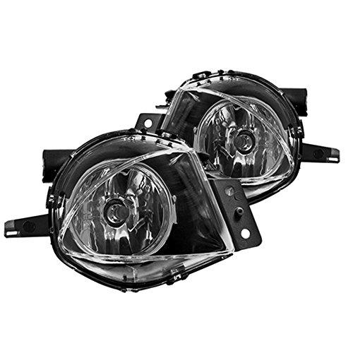 Winjet WJ30-0163-09 OEM [2006-2008 BMW E90 3-Series] Clear Lens Driving Fog Lights
