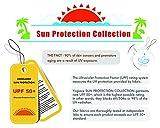 """Yogipace Women's Sun Protection 17"""" Long Running"""