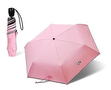 cuzit fresco UV totalmente automática Abrir y cerrar toldo 3 plegable sombrilla protección solar UPF >