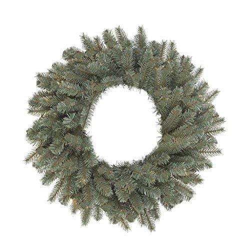 - Vickerman A164824 Colorado Blue Spruce Wreath - 24 in.