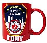 FDNY Mug 11oz Red New York Fire Department Coffee
