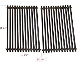 Bbq Funland Gp525 Heavy Duty Porcelain Enameled Replacement Cooking Grill Grid Fit Weber 7525 For Weber Spirit Genesis Grills Lowes Model Grills