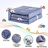Sivio Weighted Blanket for Kids 7lbs 41x60 Inches