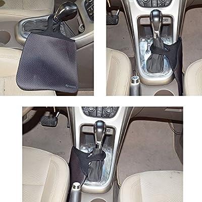 Case New Lightweight Neoprene Auto Trash Bag Sleeve Pouch/Litter Bag/Car Trash Keeper/Garbage Holder/Trash Liner Bag Case& Auto Organizer Storage Bag, Stick Shift Car Garbage Bin-Blue Tissue: Automotive