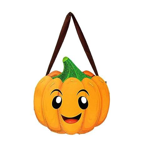 Wicemoon Halloween - Bolsas para Dulces, diseño de Calabaza ...