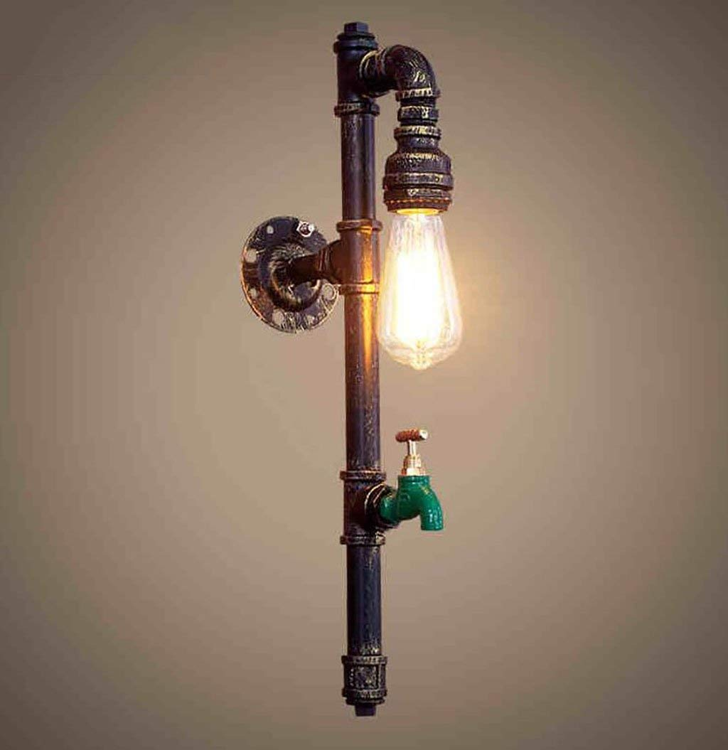 WHKHY Aisle Style Artwork/CafÉ Wall Lamps Chandelier Retro