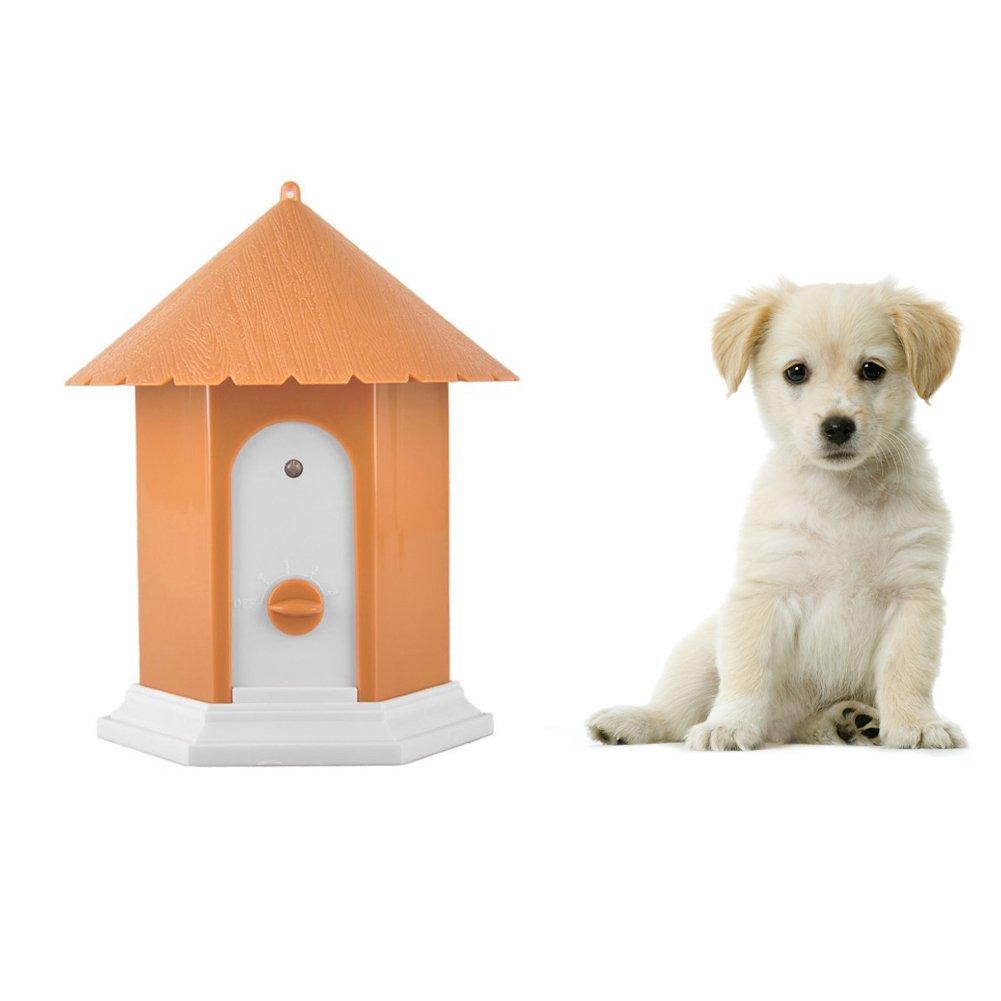 Cheerpet Ultrasonic Dog Bark Deterrent,Outdoor Dog Barking Control Device,Training Tool,Waterproof,No Harm To Pets,Easy Hanging