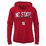 NCAA North Carolina State Wolfpack Youth Girls''Glory Days'' Tri-blend Hoodie, Dark Red, Youth Large(14)