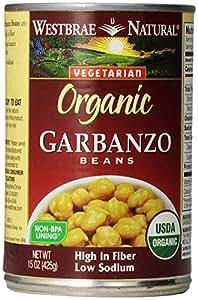 Westbrae Natural, Vegetarian Organic Garbanzo Beans, 15 oz