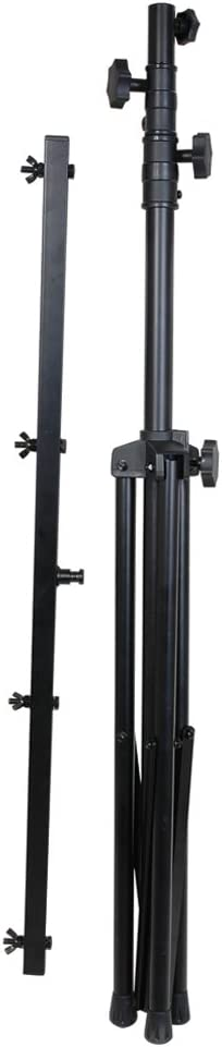 Light Stand Adjustable 50 lb Capacity Portable Up to Four Lamps