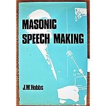 Masonic Speech Making