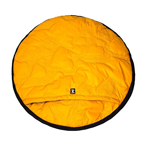 Hurtta Outback Dreamer Dog Sleeping Bag, Orange Sun, Medium