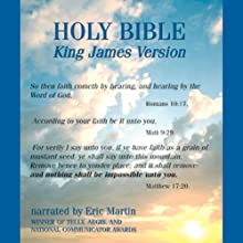 The King James Audio Bible: Authorized Version Audiobook by  Jodacom International, Inc. Narrated by Eric Martin
