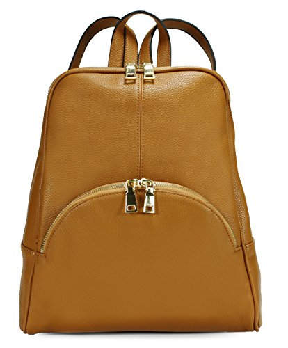 Scarleton Chic Casual Backpack Brown