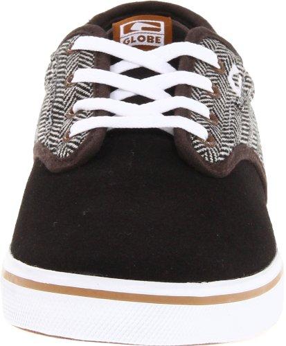 Globe Skateboard Shoes Motley Vintage Black/Herringbone Size 8