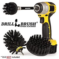 Bbq Accessories Grill Accessories Grill Brush Cleaning Kit With Extension Electric Smoker Gas Grill Drill Brush Grill Scraper Rust Remover Wire Brush Grill Cleaner Bbq Brush