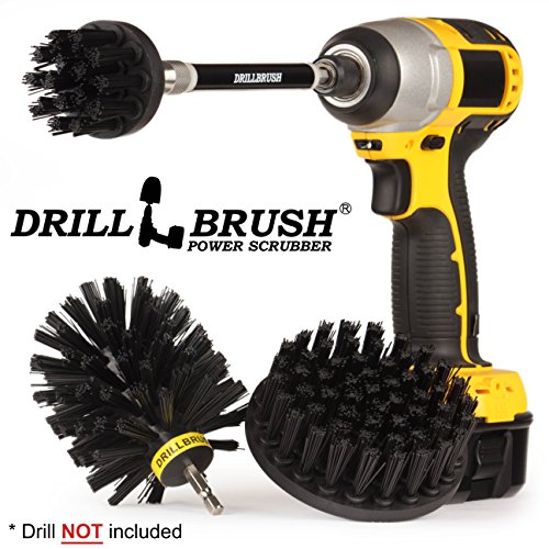 - Replace Your Wire Brushes for Drill. Ultra Stiff Nylon Power Brushes for Loose Paint Stripping, De-Scaling, Rust Removal and Heavy Duty Scrubbing. Graffiti Remover for Stone, Cement, and Brick Walls.