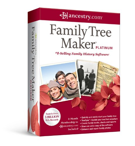 amazon com family tree maker platinum old version