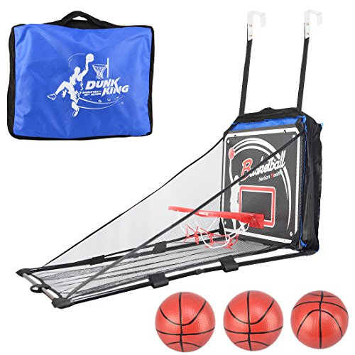 Fcoson Over the Door Wall Hanging Basketball Hoop Scoring Basketball Game for Toddler Kids (Basketball Goal Target)