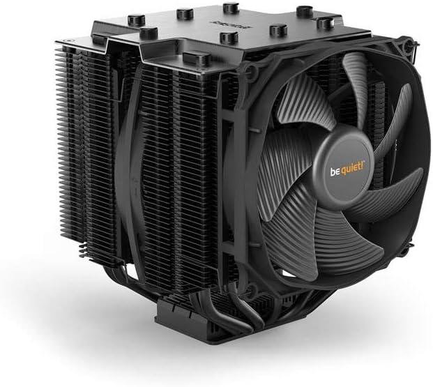 be quiet! Dark Rock Pro TR4 Procesador Enfriador - Ventilador de PC (Procesador, Enfriador, Socket TR4, AMD Ryzen, 120/135, 1500 RPM)