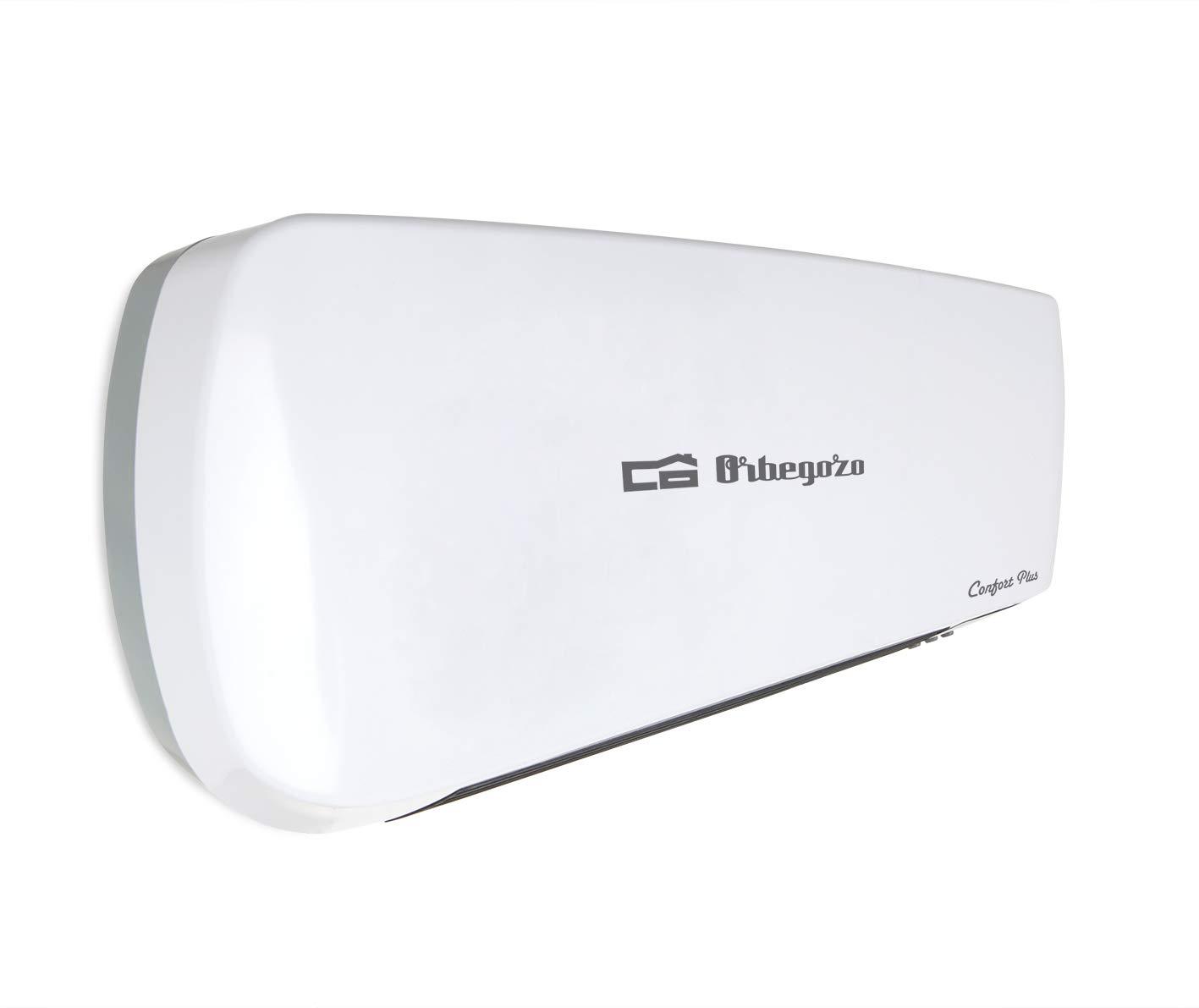 Orbegozo SP 6000 - Calefactor de baño Split programable con mando a distancia, 2000 W, 2 niveles de potencia y modo ventilador: Amazon.es: Hogar