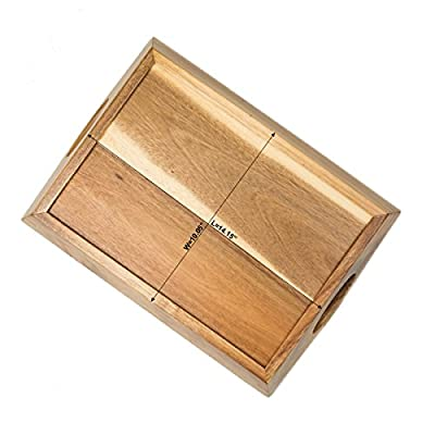 Ruichang Wood Serving Tray with Handles