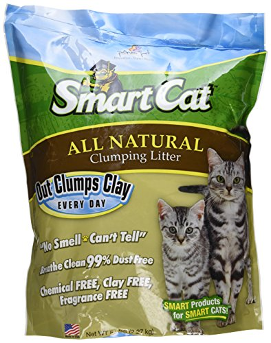 SmartCat All Natural Clumping Litter, 5-Pound