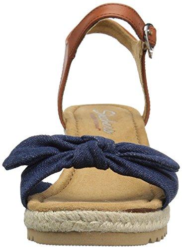 Skechers Kvinders Monarker-daisy Dukes Kile Sandal Denim 45Wmk
