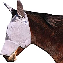 Cashel Crusader Standard Mule Donkey Fly Mask with Long Nose and Ears - Horse