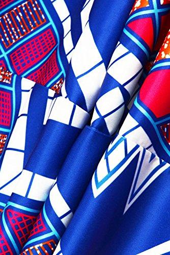 Gludear - Falda - Floral - para mujer Plaid Stripes