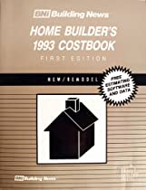 Bni Building News Home Builder's Costbook, 1993