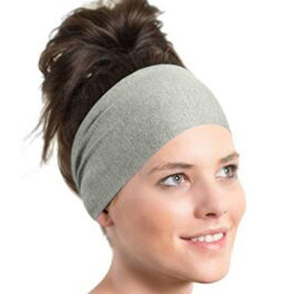 conqueror Bandeau de yoga pour femmes Bande de cheveux bandeau extensible