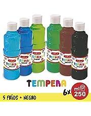 Starplast Témpera Líquida, Pintura Base Agua, 120ml, Lavable para Fiestas, Estudiantes de Arte, Artístas
