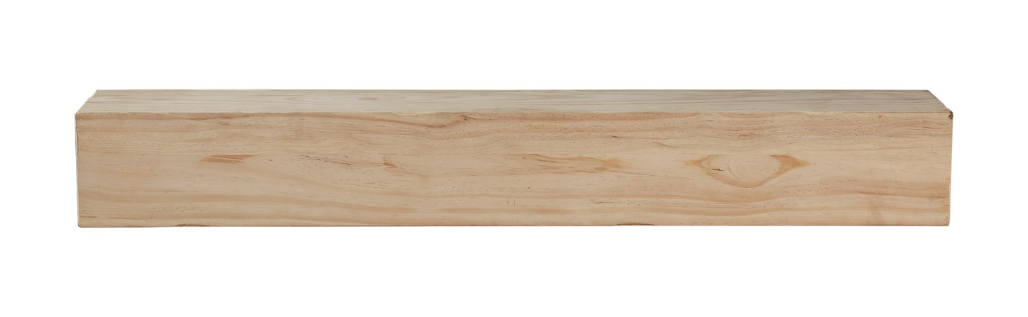 Pearl Mantels 496-72-50 Lexington Mantel Shelf, 72-Inch, Medium Rustic Distressed Finish