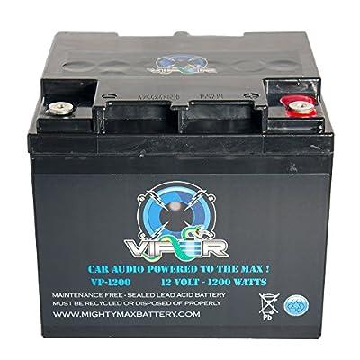 Viper VP-1200 12V 1200 Watt Replacement Battery for Kinetik HC1200