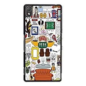 Sony Xperia Z3 Case Cover Shell Personalized Design Comedy TV Show Friends Phone Case Cover Friends Popular