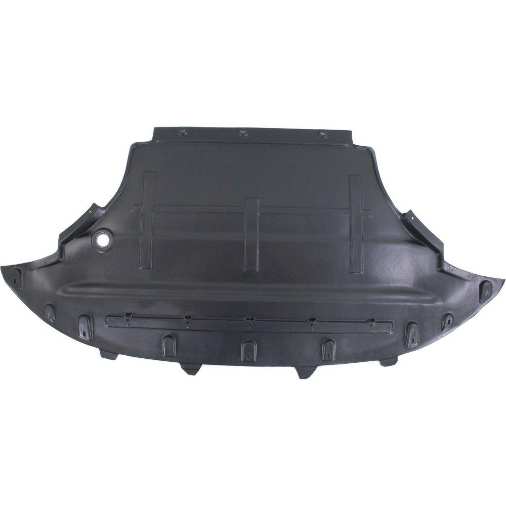 Evan-Fischer EVA201021214280 New Direct Fit Engine Splash Shield Plastic Engine Under Cover Front for Audi Q5